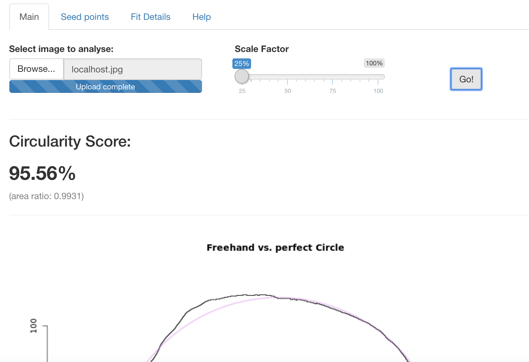 A Shiny app for your perfect circle